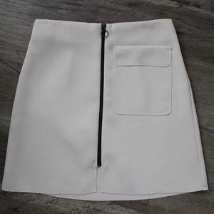TopShop Light Pink Mini Skirt